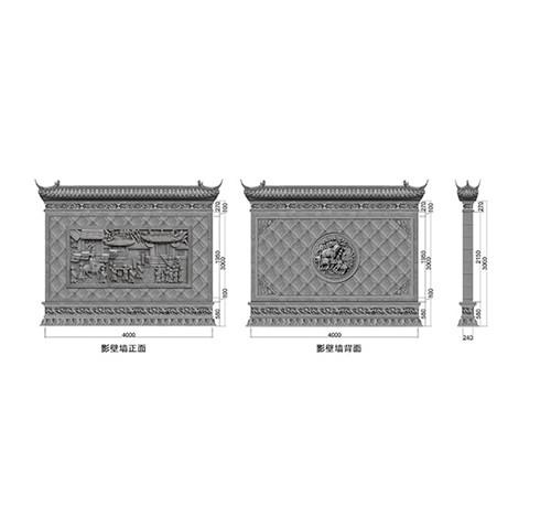 金华古建筑构件